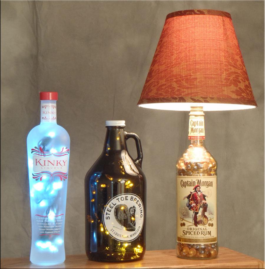 Brand new Bottle Lamp & DIY Bottle Crafts Videos & Inspirations KD58