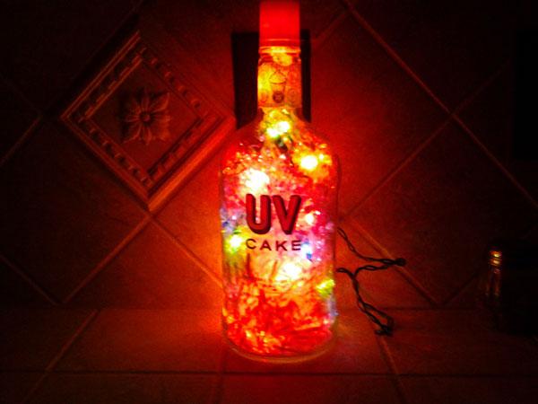 DIY Project Bottle Lamp