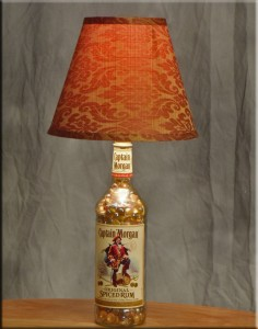 Win this Captain Morgan Table Lamp