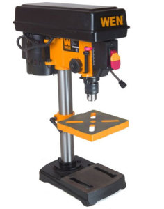 drill press for making holes in glass