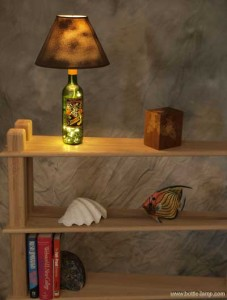 Bottle lamp gifts for Dad's that rock