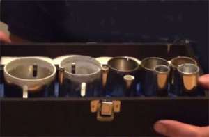 hole saw set for bottle crafters