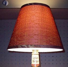 Find lamp shades in all sizes for your bottles