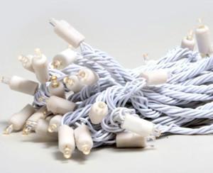 LED light string for bottles