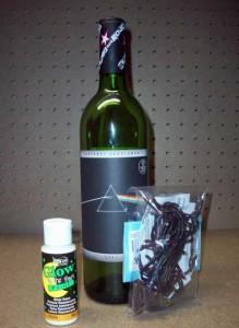 Pink Floyd Bottle Lamp Project