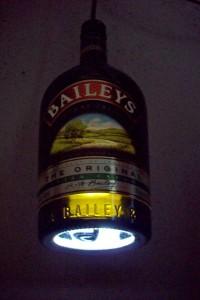 Bottle Pendant Light