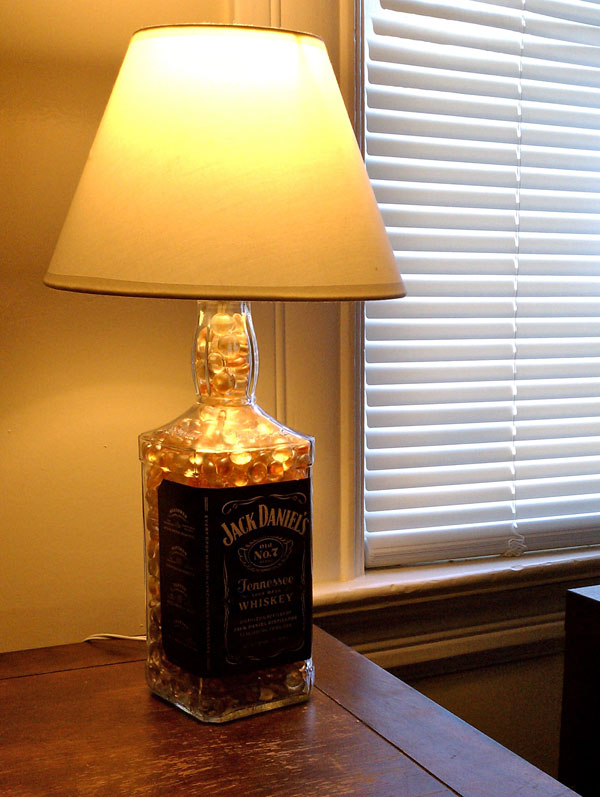 Jack Daniels Bottle Lamp by Sutton