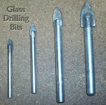 bits for drilling glass bottles