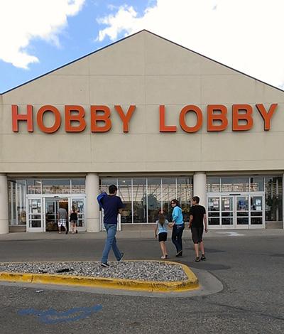 The Hobby Lobby in Fargo North Dakota