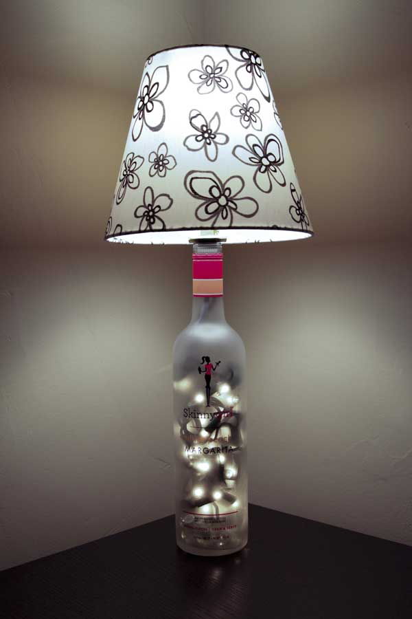 Learn how to wire a bottle lamp kit instructional videos for How to make wine bottle lights