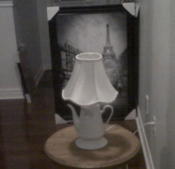 Tea Pot Lamp