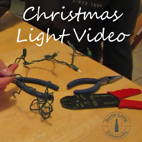 Christmas Light Video