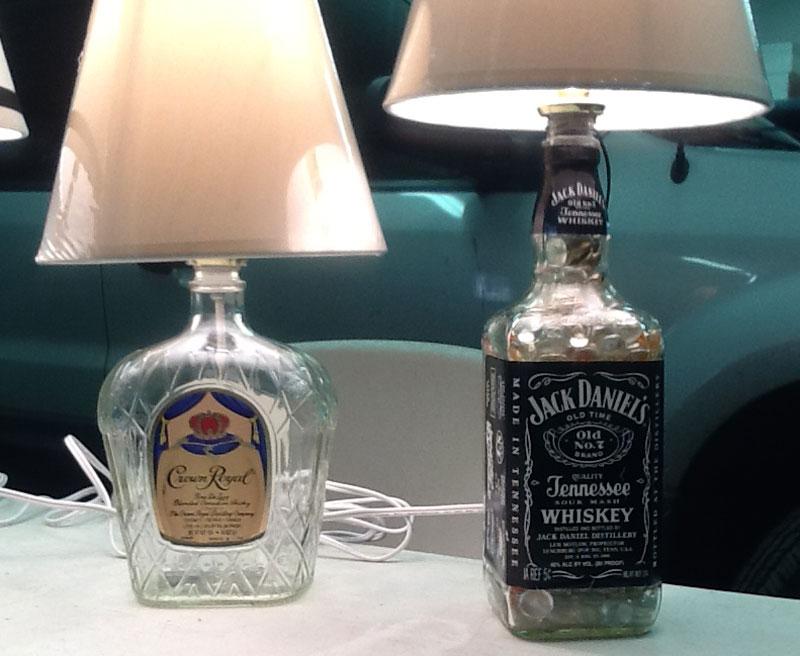 Liquorbottlelamps