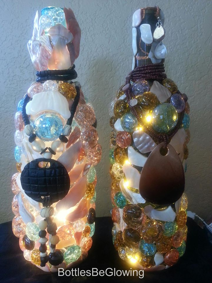 Decorated Bottle Lights
