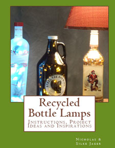 Recycled Bottle Lamps Book on Amazon