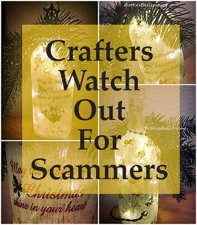 Tips & Info For Crafters To Watch Out For Scammers