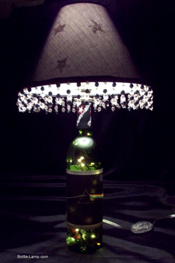 Pink Floyd Wine Bottle Lamp