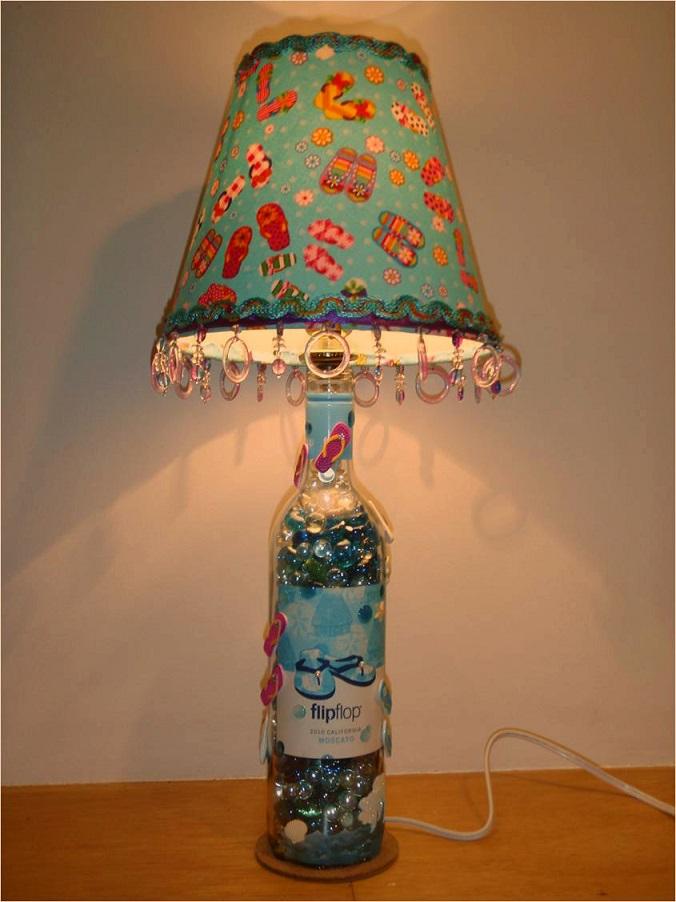 Flip Flop Lamp Carol