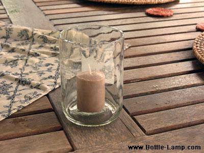 My first cut bottle in Belize