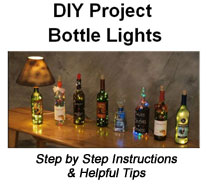 Learn how to drill a glass bottle