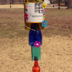 Bottle Art Wind Chimes By Lisa