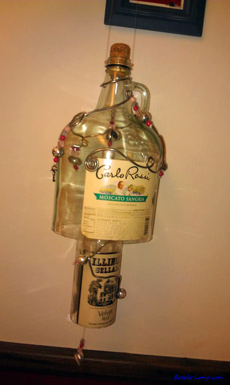 Decorative Bottle Art