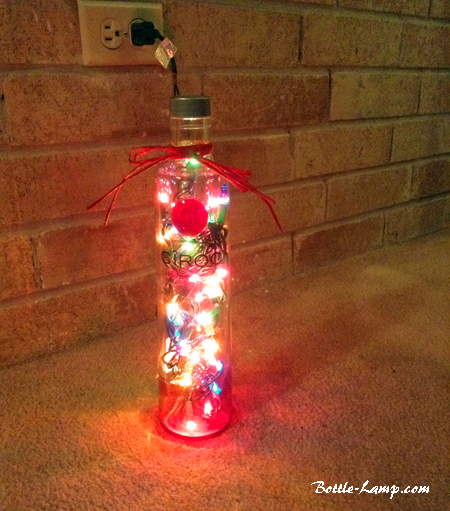 CIROC Bottle Lamp By Sharon
