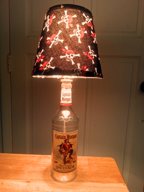 Captain Morgan Botle Lamp by Jim W