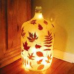 Fall Bottle Project Ideas