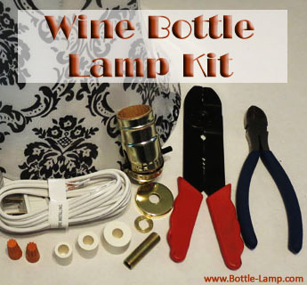 Wine Bottle Lamp Kit