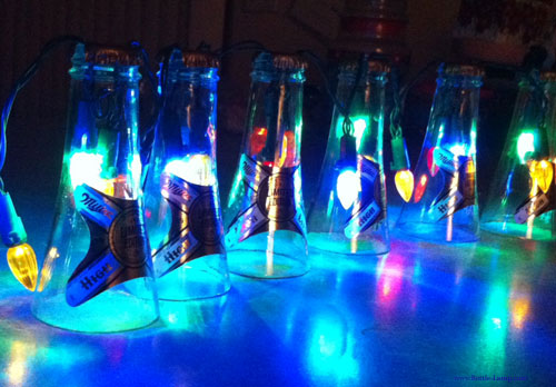 Beer Bottle Party Light String How To Make A Bottle Lamp