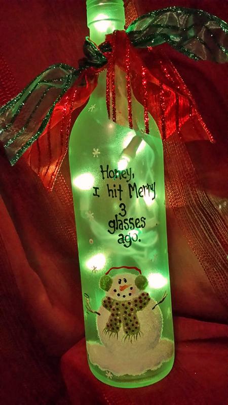 Karens Wine Seller bottle