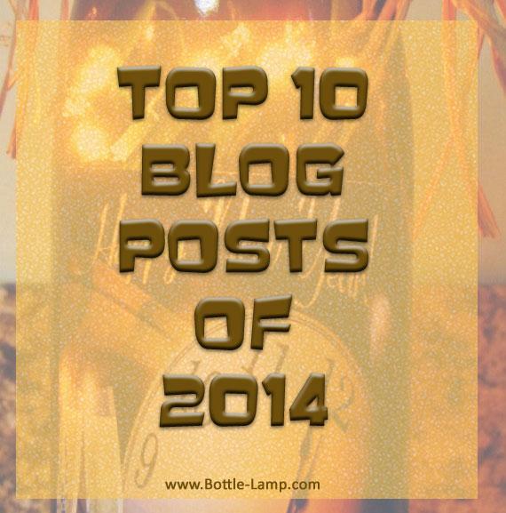 Top 10 favorite bottle lamp blog posts