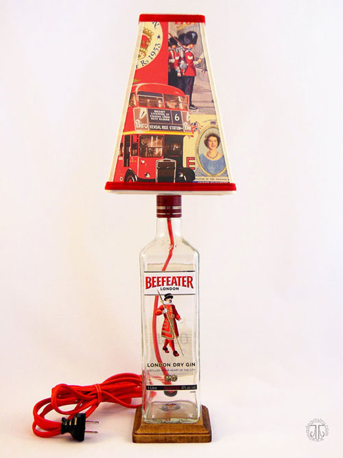 Beefeater Bottle Lamp