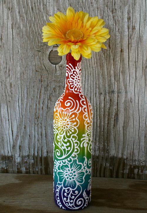 Flower Power bottle