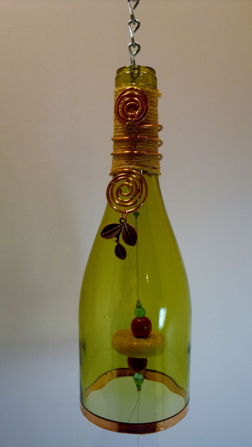Garden Wind Chime bottle