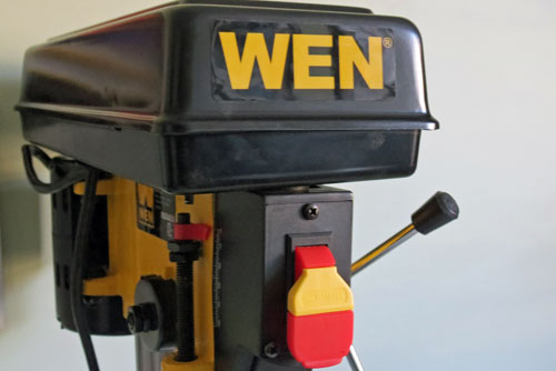 Drill Press Review - the WEN 4208 up close