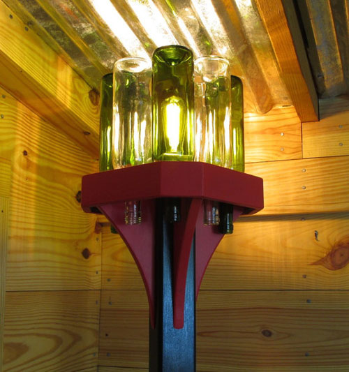 Bottle Stand Lamp