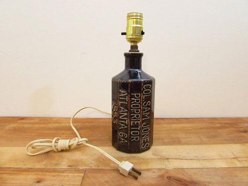 Collectors Bottle Lamp
