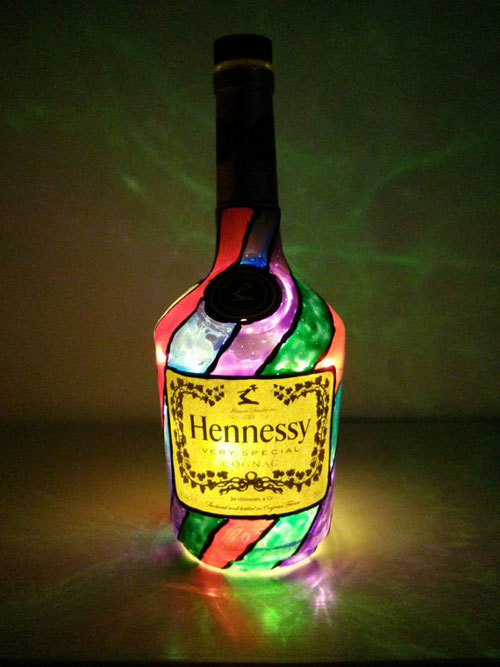 9 Uniquely Lighted Bottle Diy Projects Found On Etsy How