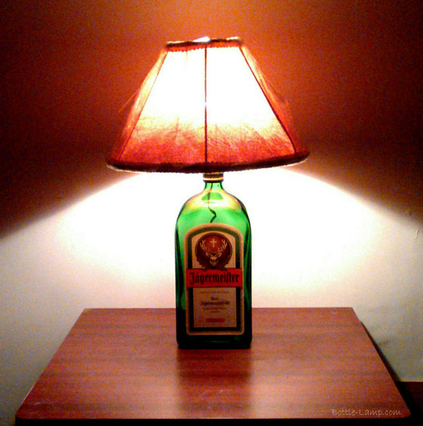 Jagermeister Bottle Lamp
