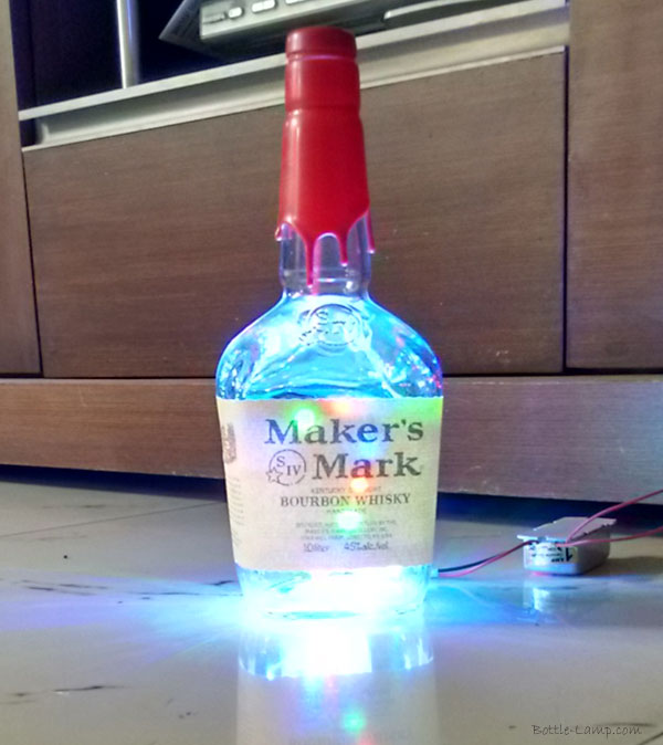 Makers Mark Lighted Bottle