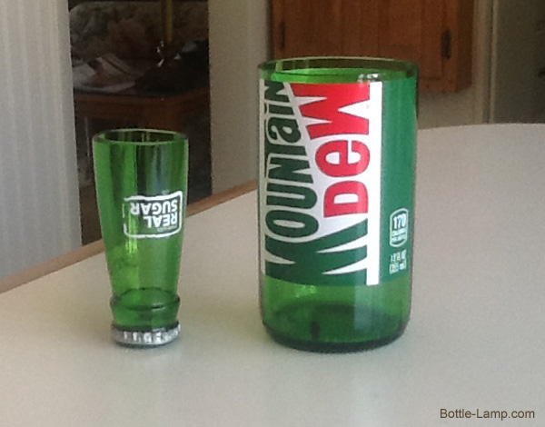 Mountain Dew Bottle crafting