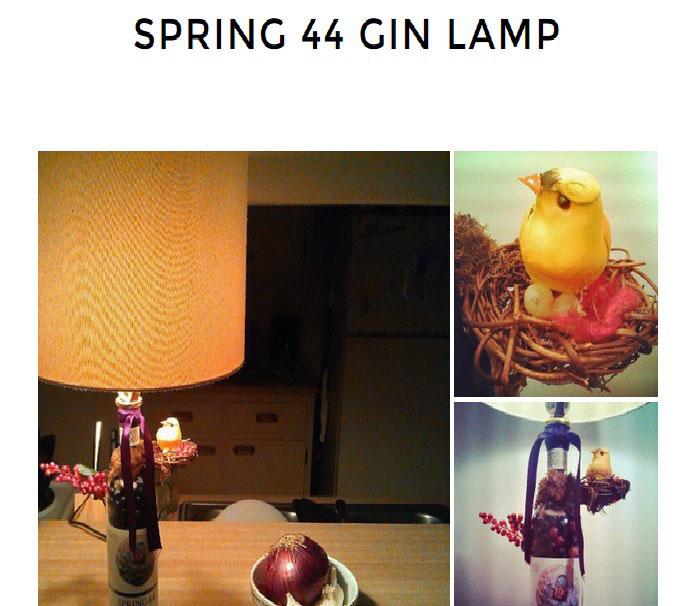 SPRING 44 GIN LAMP