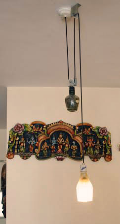 pulley pendant lamp