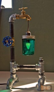 Mechanical Dragon Steampunk Lamp Liam