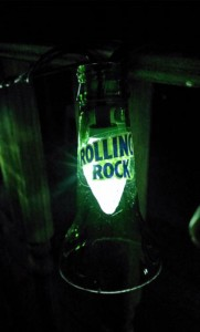Rolling Rock Bottle Light