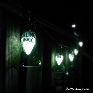 Rolling Rock Beer Bottle Party Lights