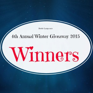 Winter Giveaway Winners 2015
