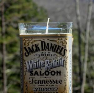 jack daniels candle